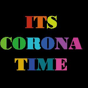 Es ist Corona Zeit bunt