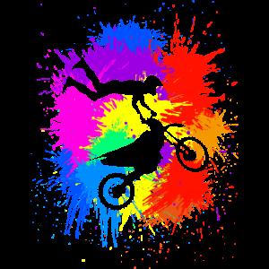 Dirt Bike Design für einen Motocross Fahrer