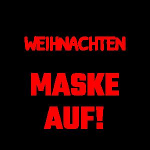 Weihnachten Maske