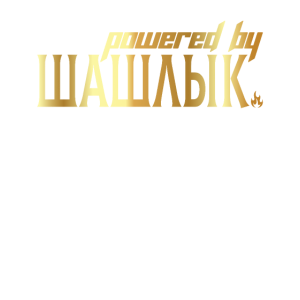 Powered By Schaschlik Russisch Russen Rossia Gold