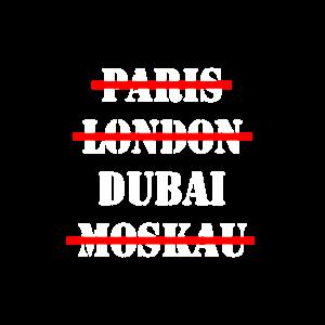 DUBAI Emirate Stadt Geschenk Geschenkidee city