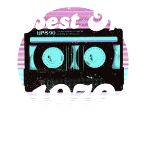 Best Of 1970 50th Birthday Gifts Cassette Vintage