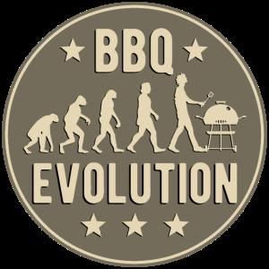 BBQ Evolution Grillen Lustig Barbeque Geschenk