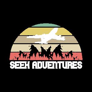 Aviators T-Shirt: Suche nach Abenteuern