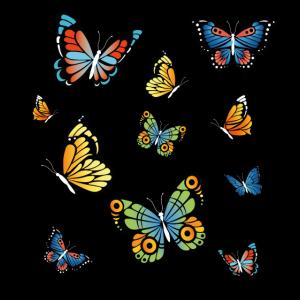 Naturliebhaber Naturfreunde Schmetterlings Maske