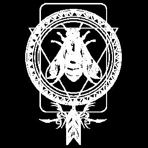 Traumfänger mit Fliege Insekt Zeichen Symbol
