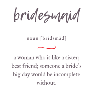 Bridesmaid (Brautjungfer) Convoluted Edition