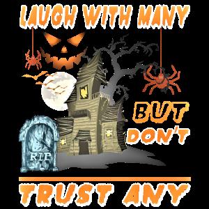 Happy Halloween Friedhof