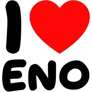I love Eno / musta