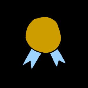 Medaille Preis Auszeichnung Gewinner