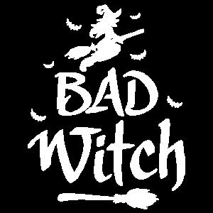 Happy Halloween Bad Witch Freundschafts Design