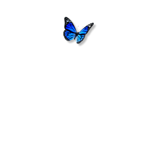 Blue Butterfly Soft Aesthetic Emoji Cute Butterfli