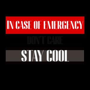 Lustiges Notfall Motiv   Notfall