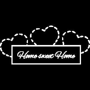 Home Sweet Home - Zuhause aufdruck