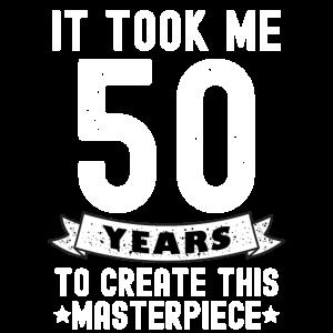 Lustiges Geschenk Zum 50. Geburtstag Meisterwerk