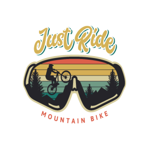 Mountain Bike Retro Design Geschenk