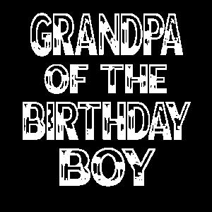Opa des Geburtstagskind-Zoo-Thementieres
