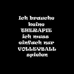 Keine Therapie sondern Volleyball spielen Sport Ho