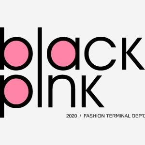 schwarzer rosa Modestil