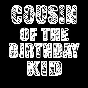 Cousin des Geburtstagskindes Zebra Lover Bday Party