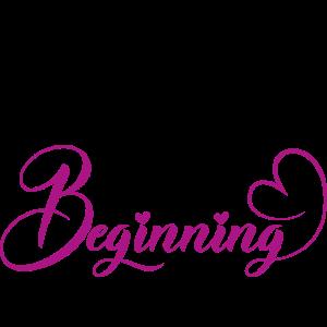 Brautgeschenk: Welcome to our beginning
