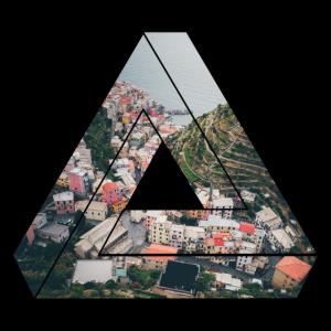 Dreieck / Stadt / Geschenk