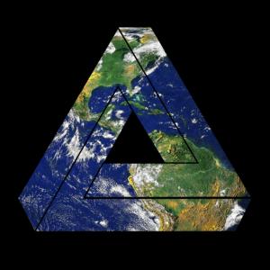 Dreieck Erde