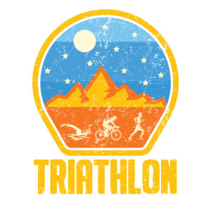 Triathlet Sportler Laufen Spruch Geschenk