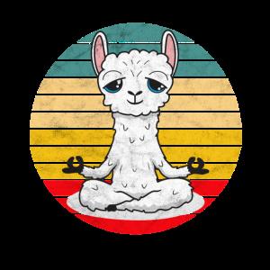 Yoga Meditation Achtsamkeit Lama - Namaste