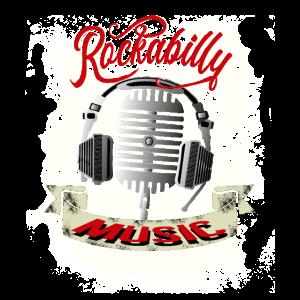 Rockabilly Music Mikro DJ Old School Retro