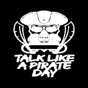 Nautisches Spiel wie ein Pirat