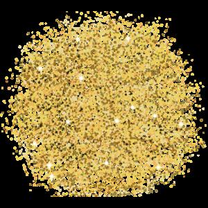 Corona Maske mit Gold Glitzer