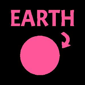 Flache Erde Verschwörung Scheibe lustig Geschenk