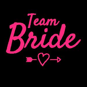 Team Braut - Feier -Junggesellinenabschied