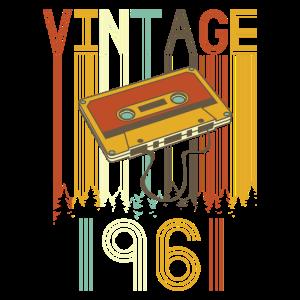 Vintage 1961 Retro