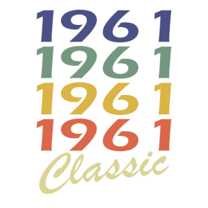 Classic 1961 Geburtstag 1961 Birthday Geschenk