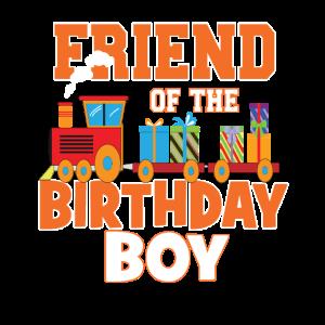 Freund des Geburtstagskindes Zugliebhaber Bday Party