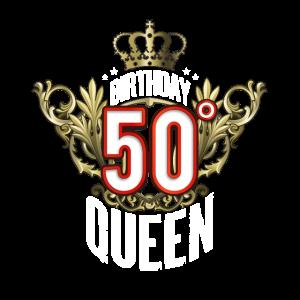 Alles Gute zum 50 Jahre alten Geburtstag Königin