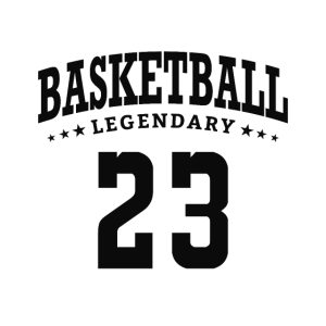 Basketball Legendary 23 Michael Jordan Black Cat