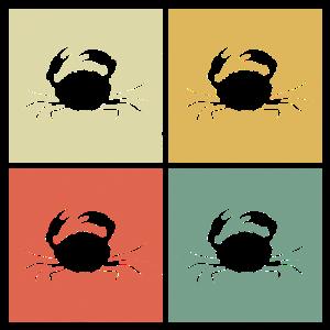 Retro-Krabben