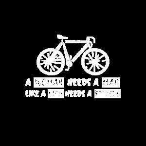 A Woman Needs A Man Like A Fish Needs A Bicycle 2