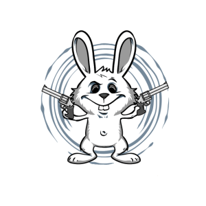 Pew Pew Madafakas Hase Funny Fun Shirt