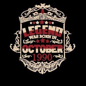 Oktober 1990 Geburtstag Legende