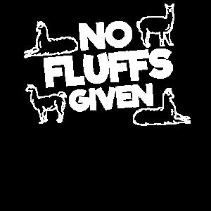 Alpaka No Fluffs Given Alpakas Lustiges Geschenk