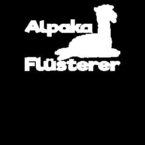 Alpaka Flüsterer Alpakas Niedlich Lustig Geschenk