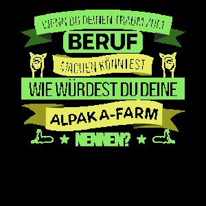 Alpaka Farm Beruf Alpakas Lustig Niedlich Geschenk