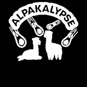 Alpaka Alpakas Alpakalypse Lustiges Geschenk