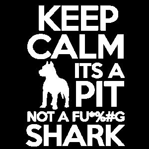 Behalte Muschel, es ist eine Grube, kein Fu *% # g Hai