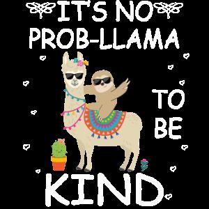 Ich bin kein Problem, freundlich zu sein