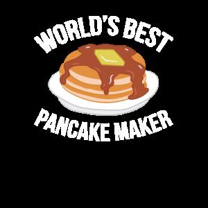 Pfannkuchen Frühstück Welt beste Crêpière